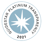 Guidestar Platinum Transparency 2021 Seal