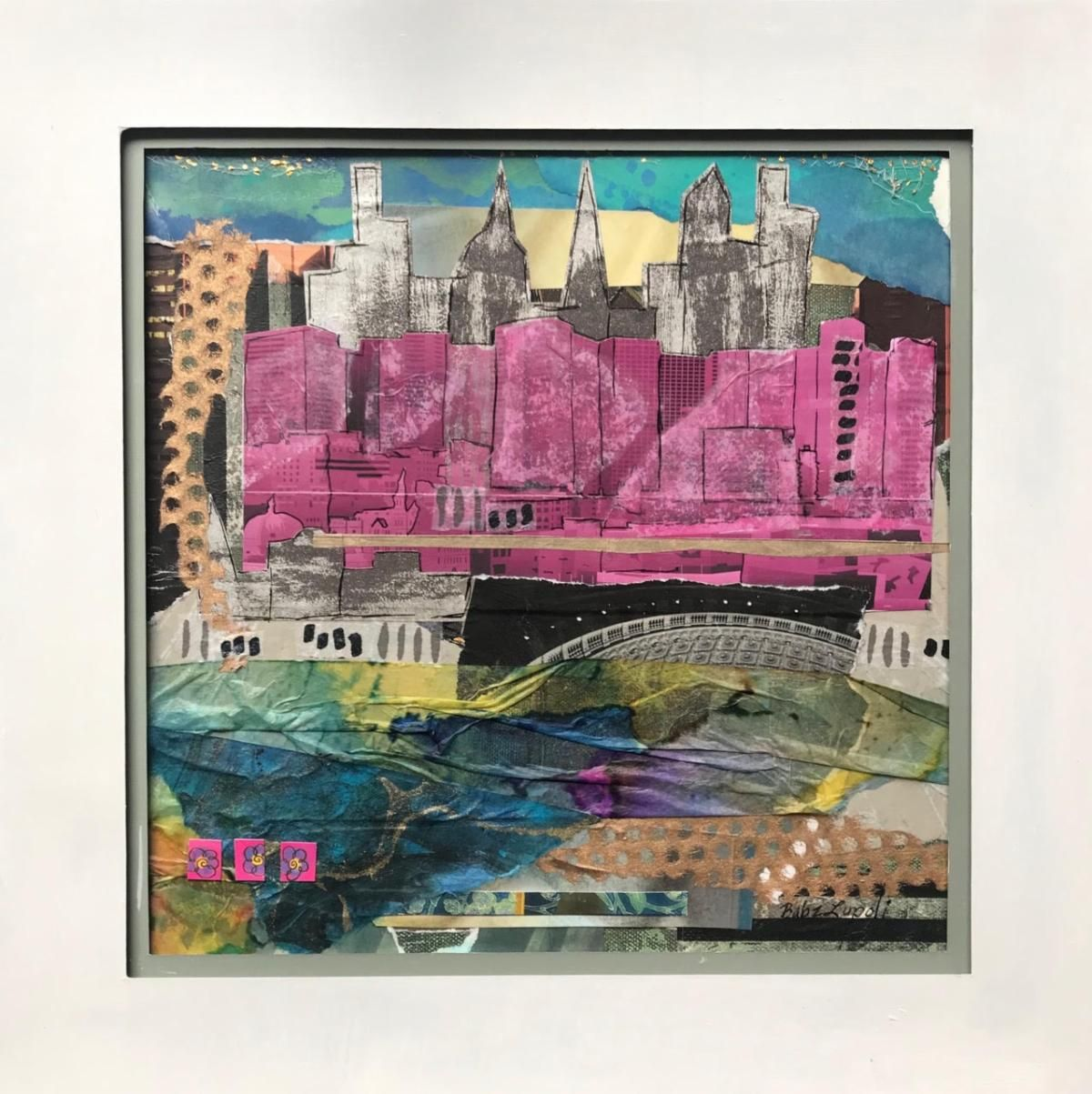 """City in the Pink"" by Babz Lupoli"