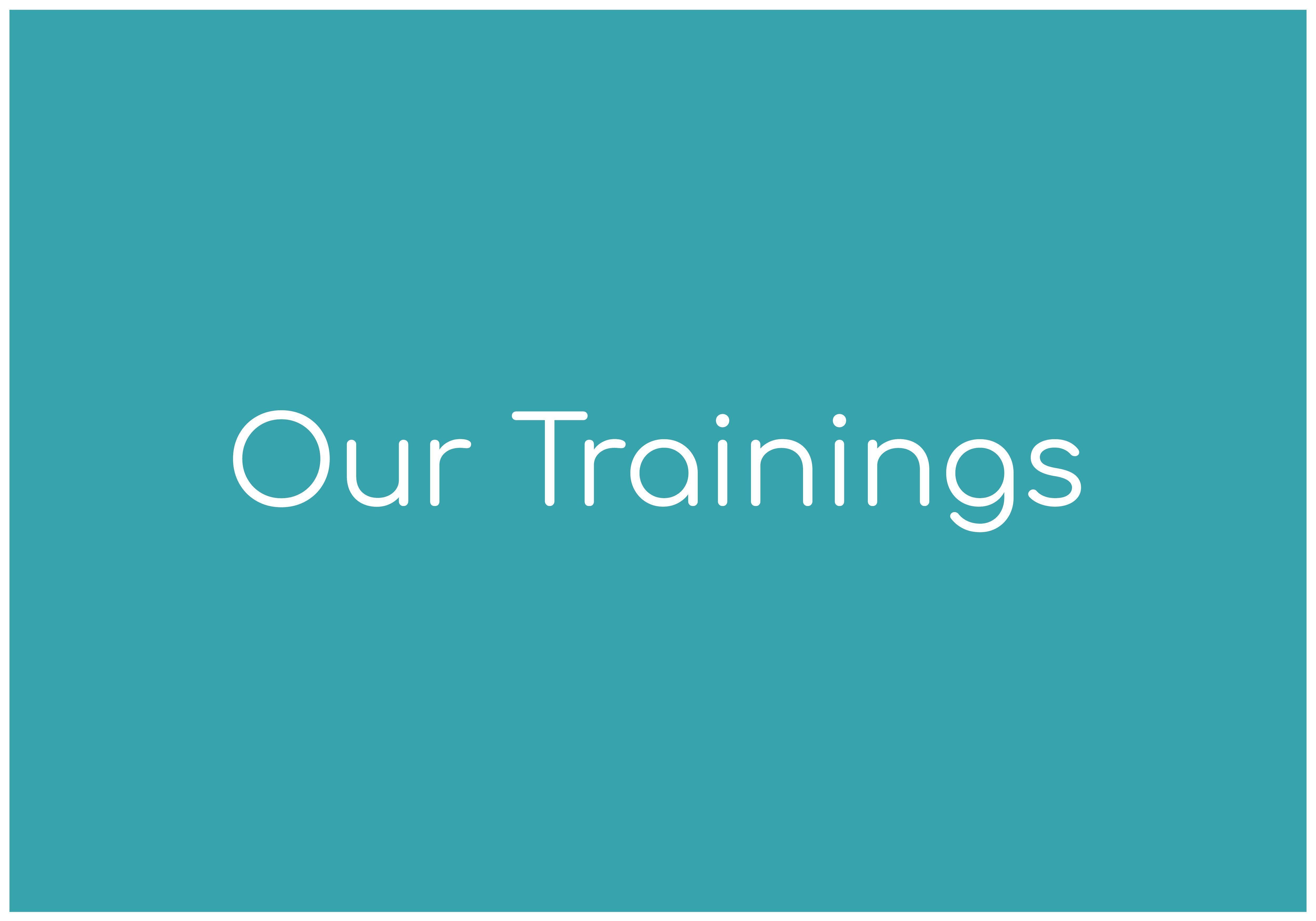 Nebraska Coalition Trainings