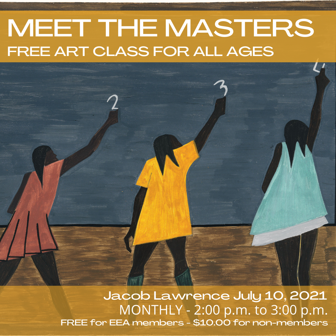 Meet the Masters FREE Art Class - Jacob Lawrence