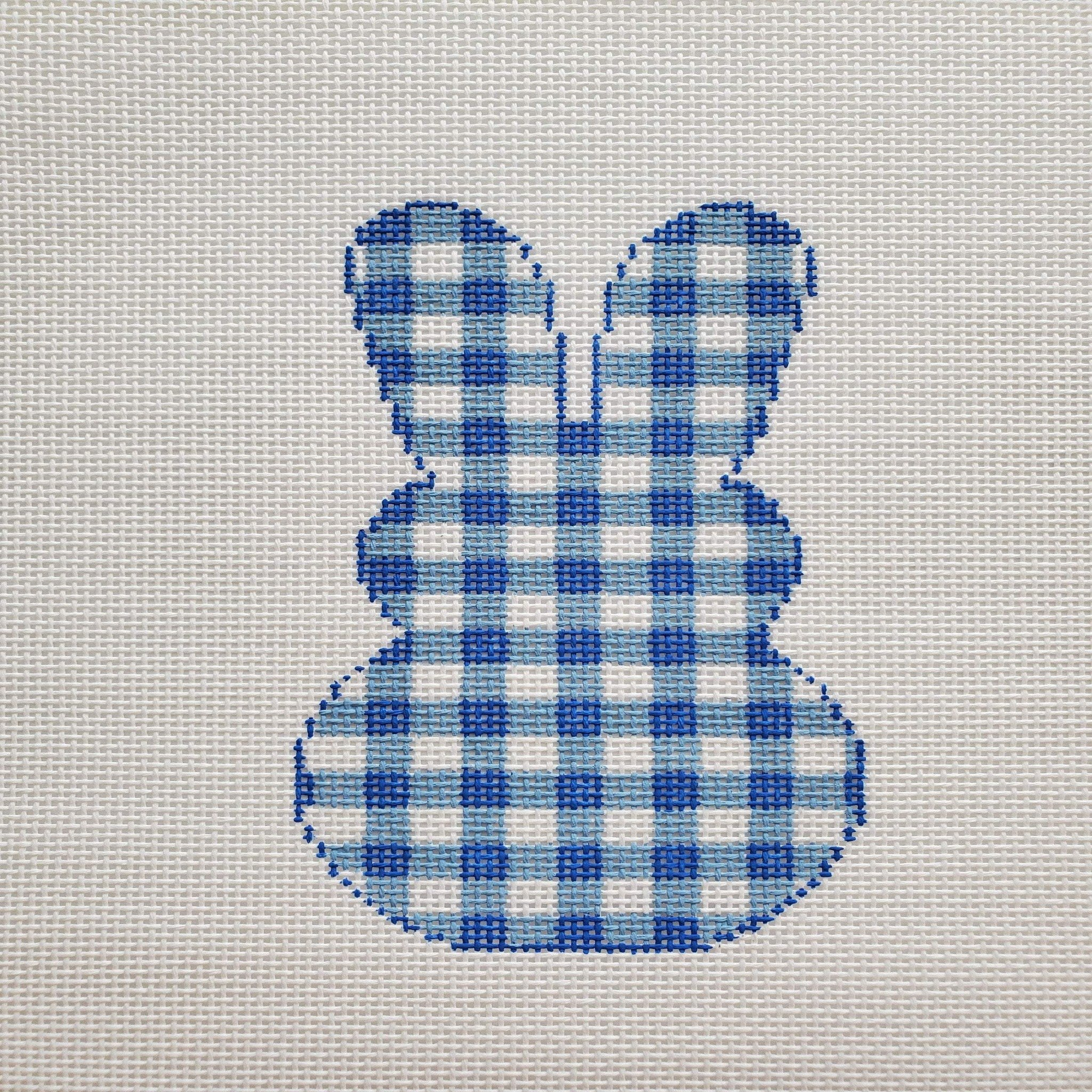 Gingham Bunny, Blue