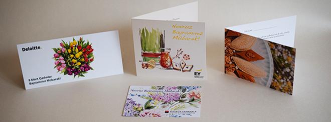 Novruz cards