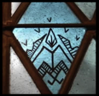 Mystery Symbols on Stained Glass Windows