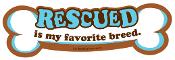 Rescued favorite breed - bone