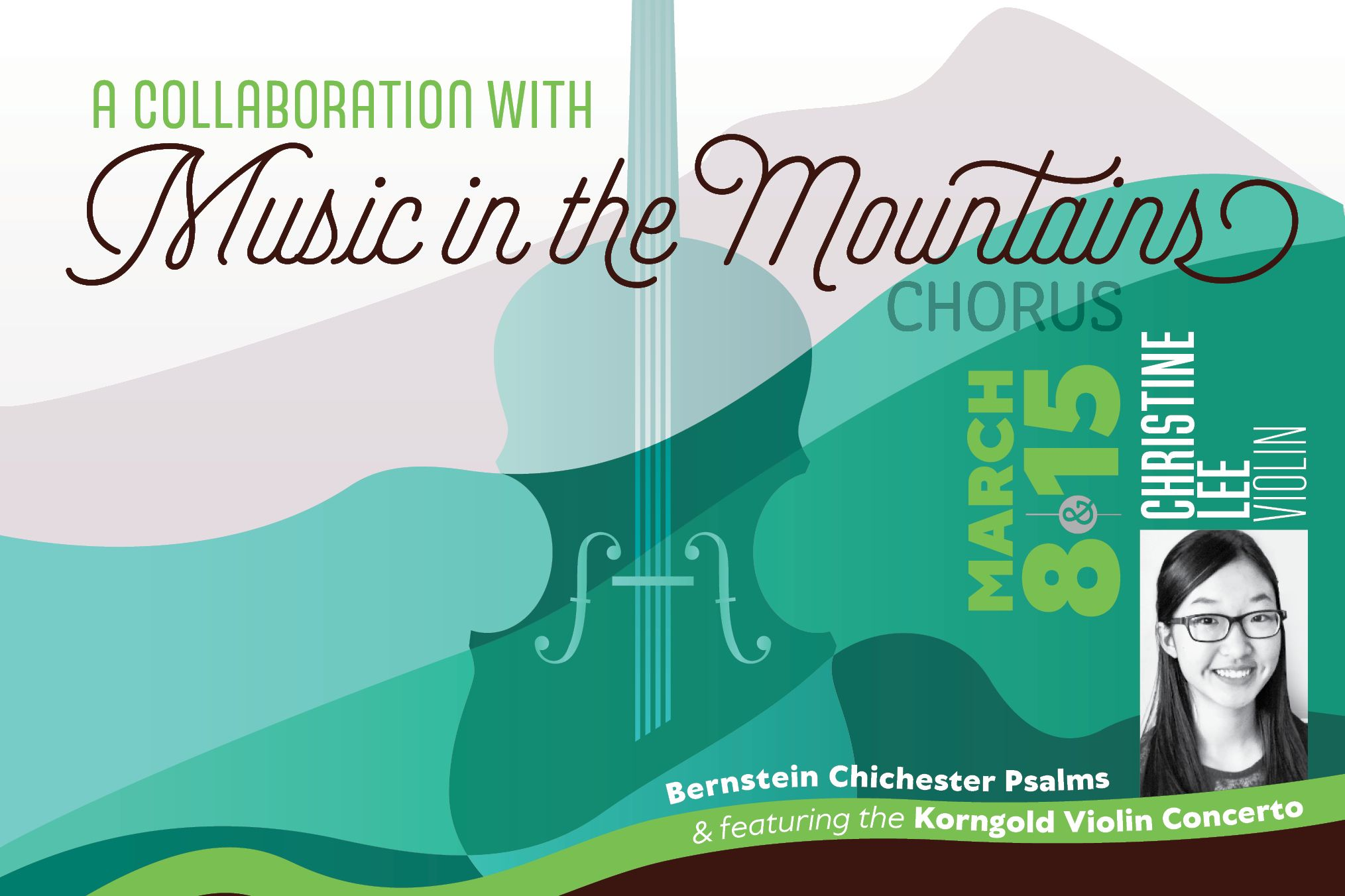 A collaboration with Music in the Mountains Chorus