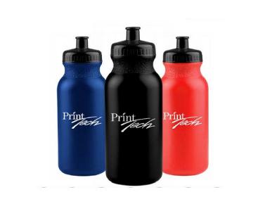 Print Tech promotional bottles