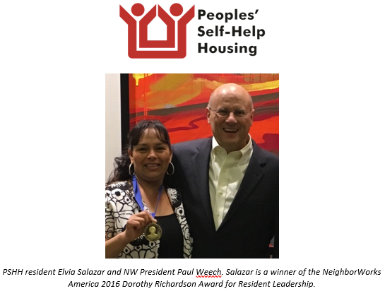 PSHH Resident Receives National Recognition for Community Leadership