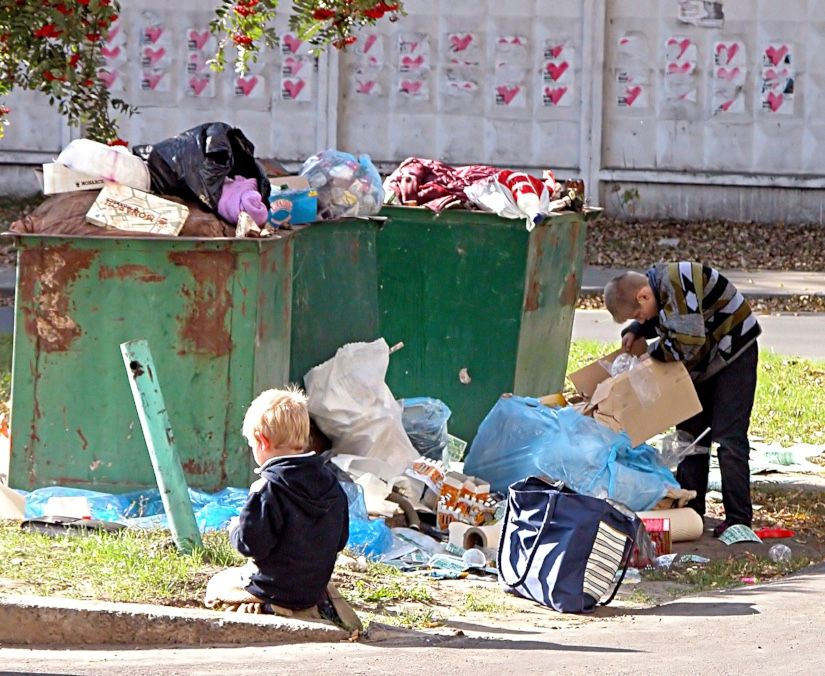 Clothing Drive, Poverty In Ukraine