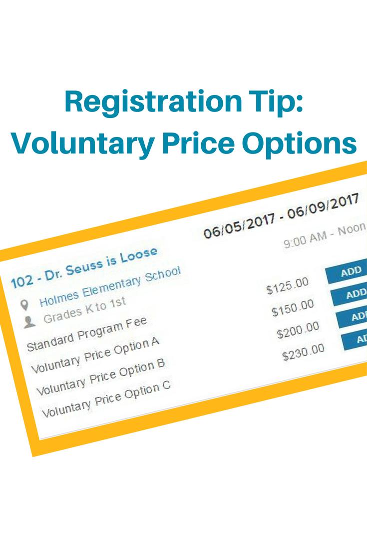 Voluntary Price Option