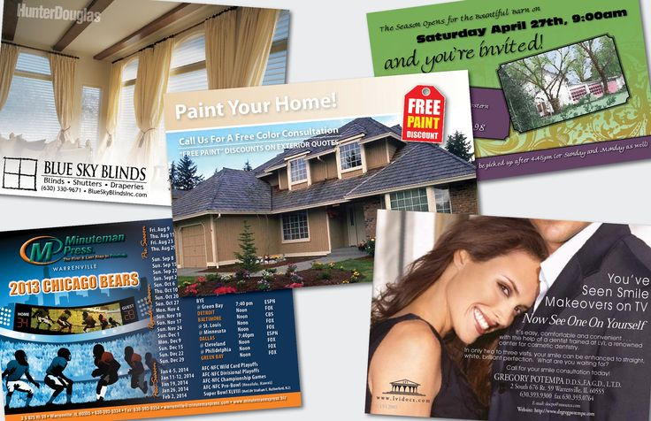 Postcards & Direct Mail