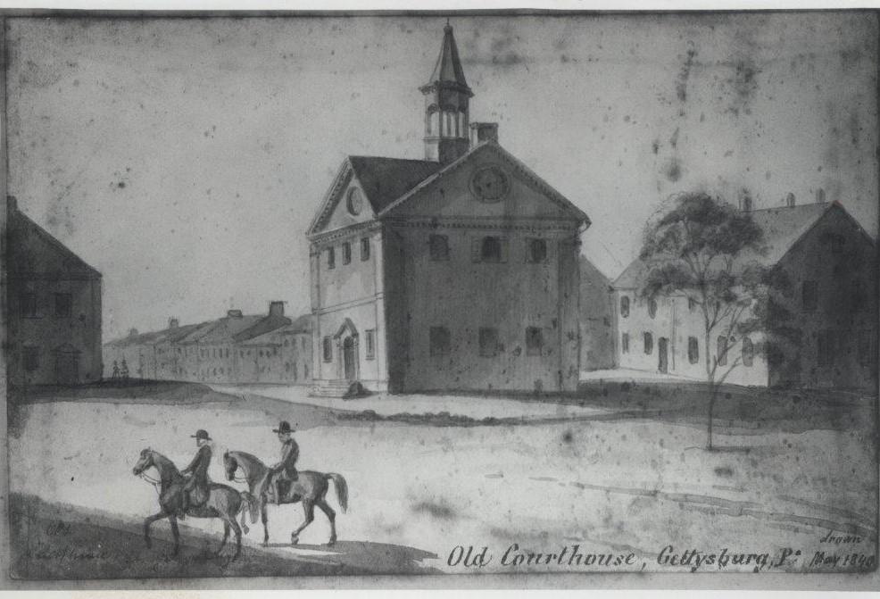 Three Lost Buildings in Gettysburg