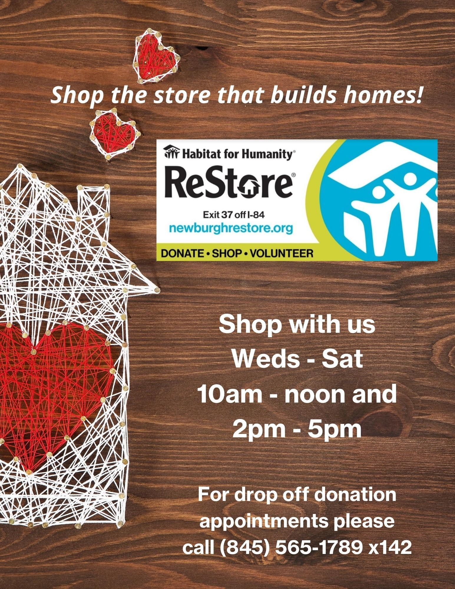 Shop the store that builds homes!