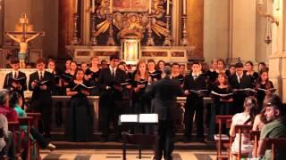 Miami Children's Chorus Ave Maria, Lazlo Holmes Italy Tour 2013