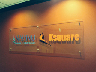 Clear Acrylic Panel Signs in Bend Oregon