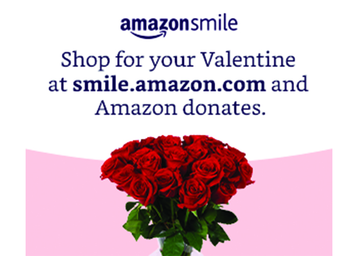 Shop for your Valentine's on AmazonSmile