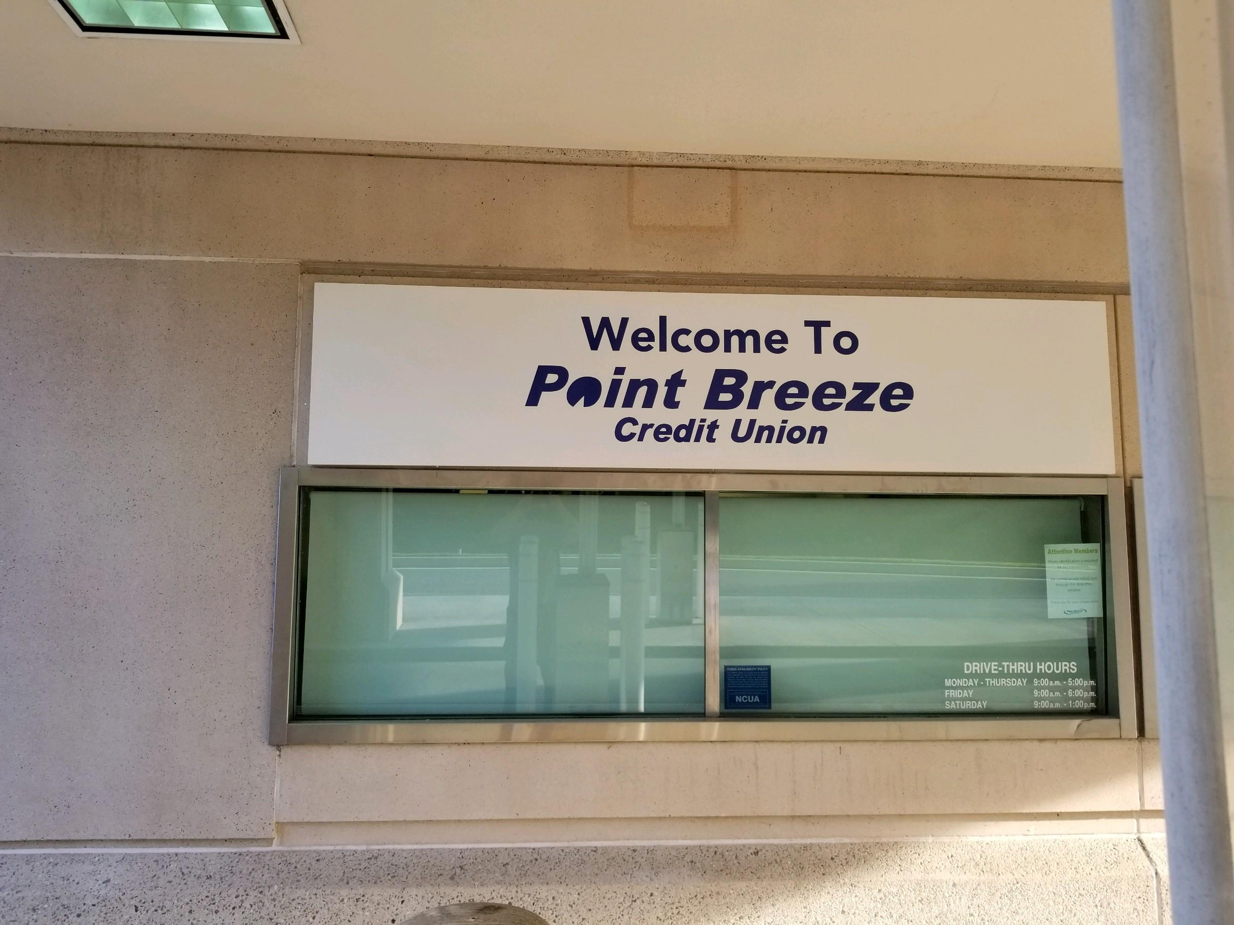 Pointi Breeze Credit Union Banner