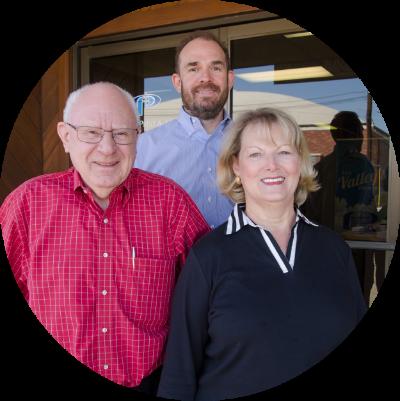 Doug, Mike and Roberta Carlile