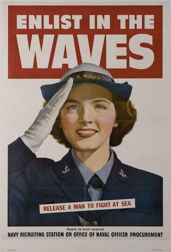 1942: The WAVES were established....