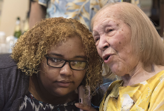 DR. BLANCHE BOURNE-TYREE, CLASS OF 1941, CELEBRATES 100TH BIRTHDAY