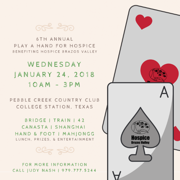 Play A Hand for Hospice