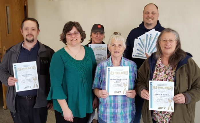 RMDC Senior Center's Earn Awards from Lewis & Clark Public Health