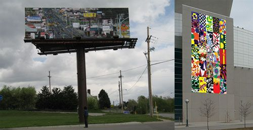 Billboards & Banners: Two Bemis Center Projects in the News