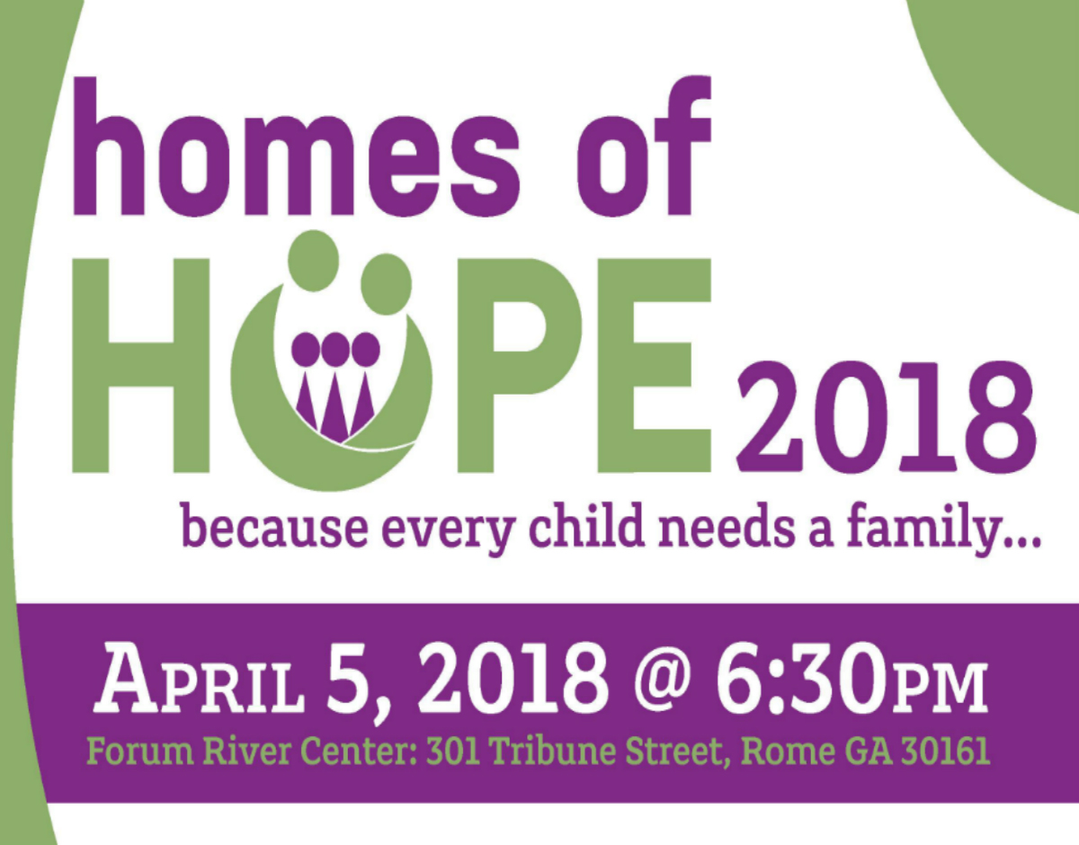 Homes of Hope 2018