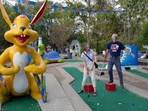 EJC Celebrates 13th Anniversary at Peter Pan Mini-Golf Tournament