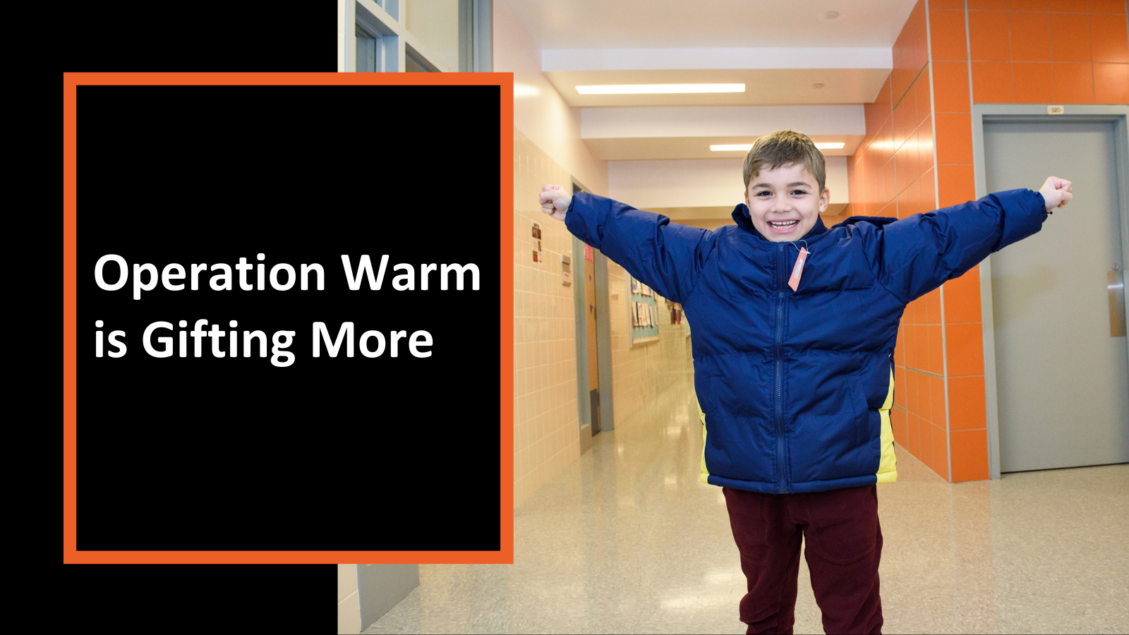Operation Warm is Gifting More