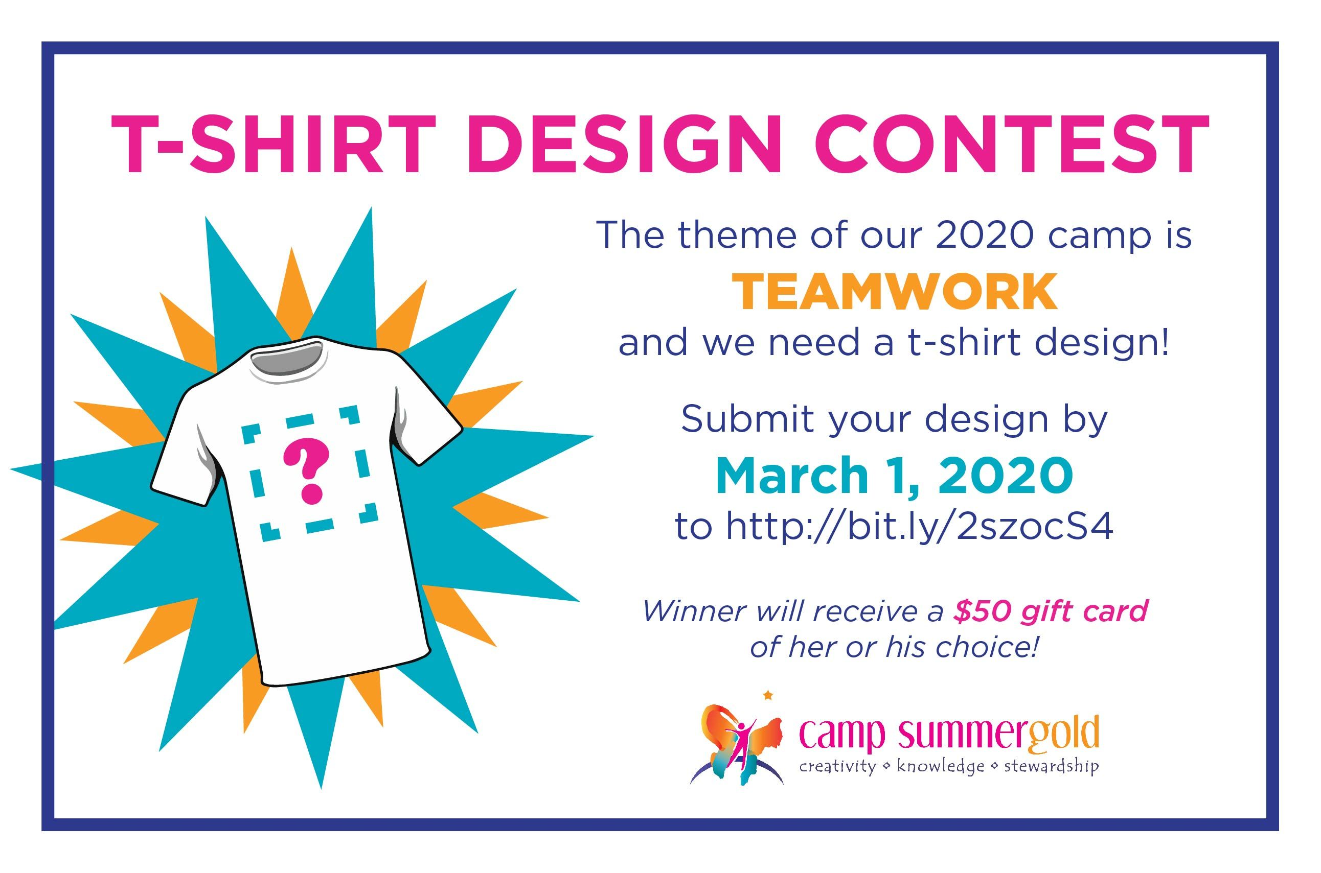 Design our 2020 T-Shirt