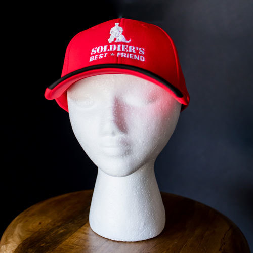 Red Colorblock Hat
