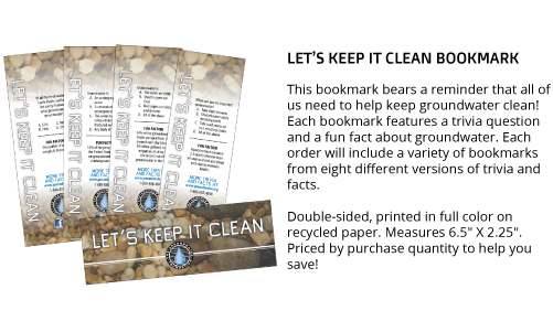 Let's Keep It Clean Bookmark