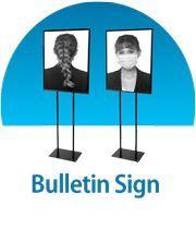 Bulletin Sign