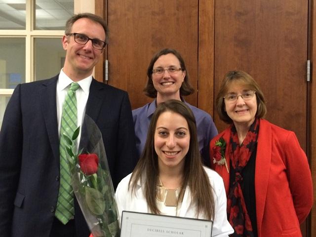 Decibels Scholar Awarded at Northeastern