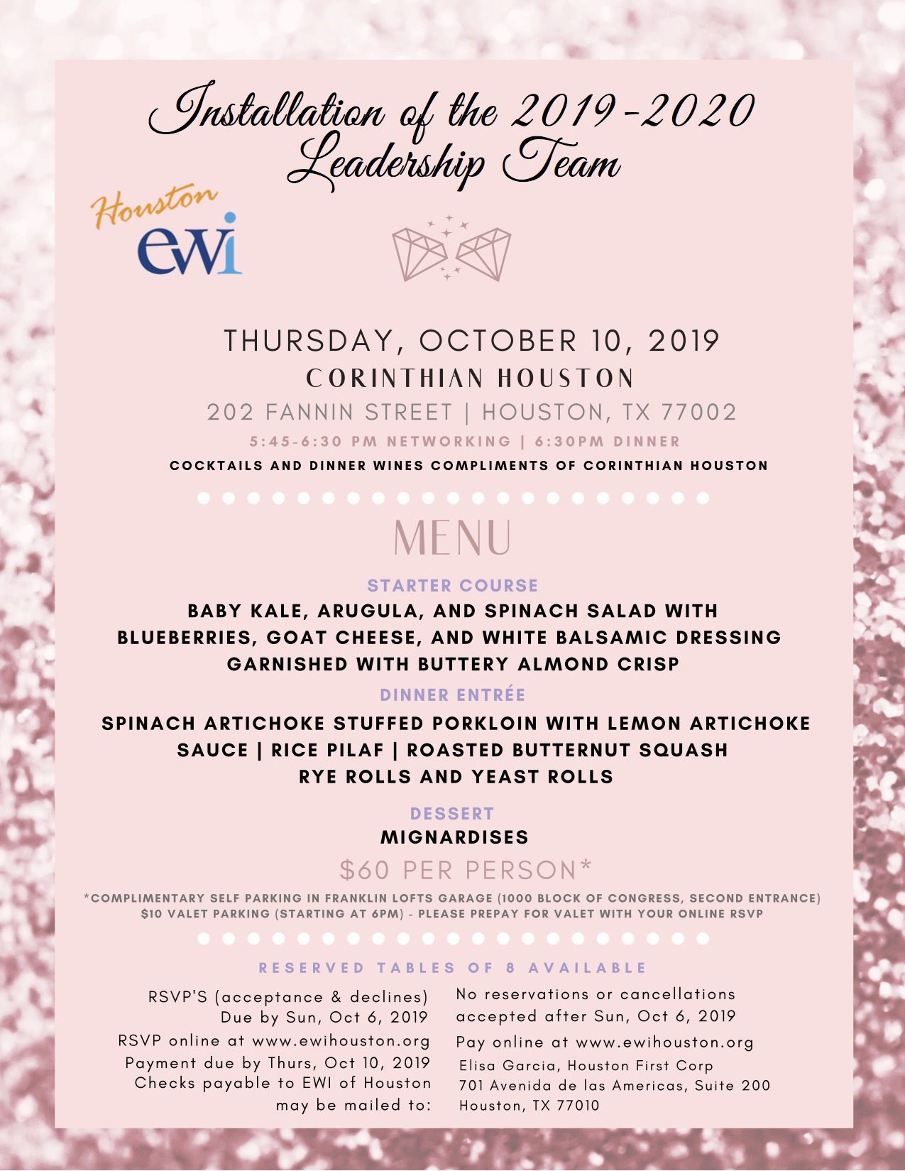 EWI October Monthly Meeting