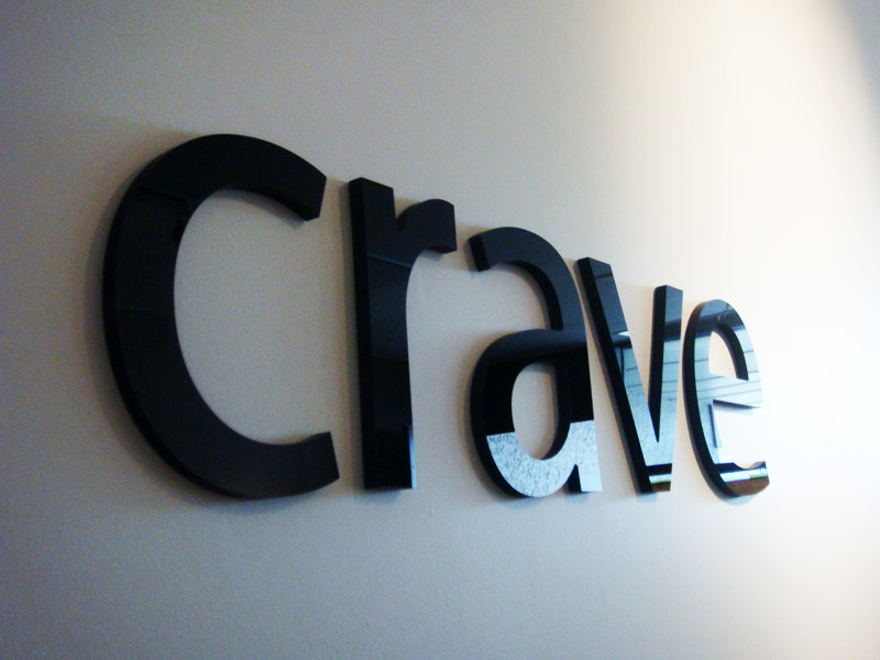 three dimensional laser cut letters logos and signage