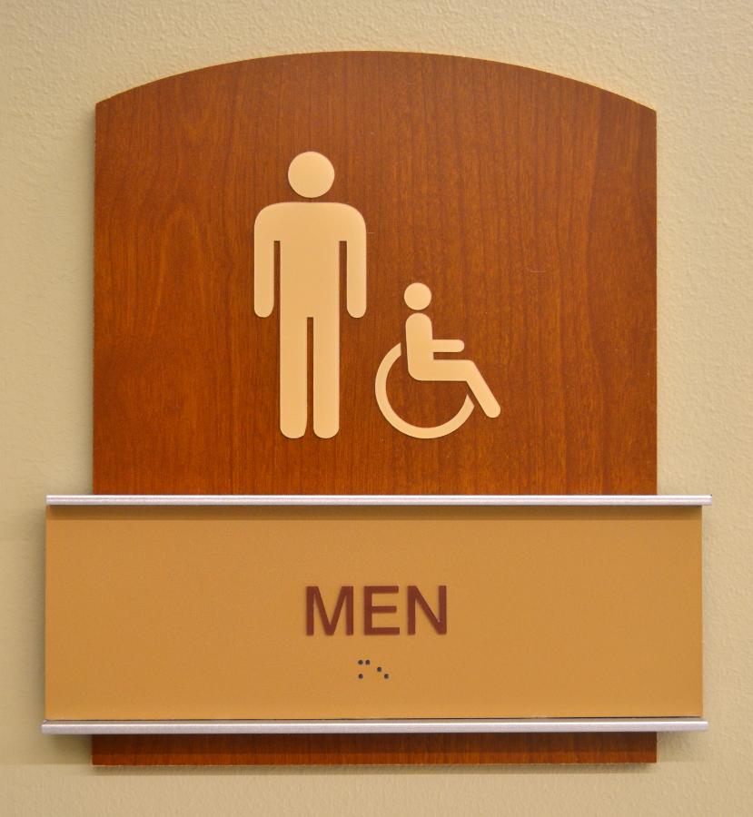 ADA Signage - Men's