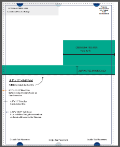 Mailing Templates - 85 x11 brochure template