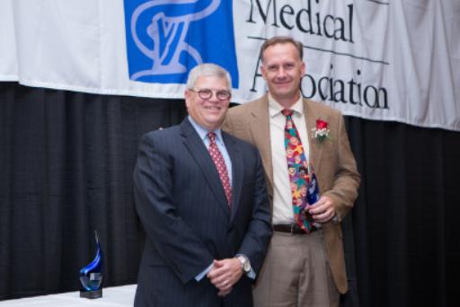 NAFP Physician, Dr. Bob Rauner, Receives Award from the Nebraska Medical Association