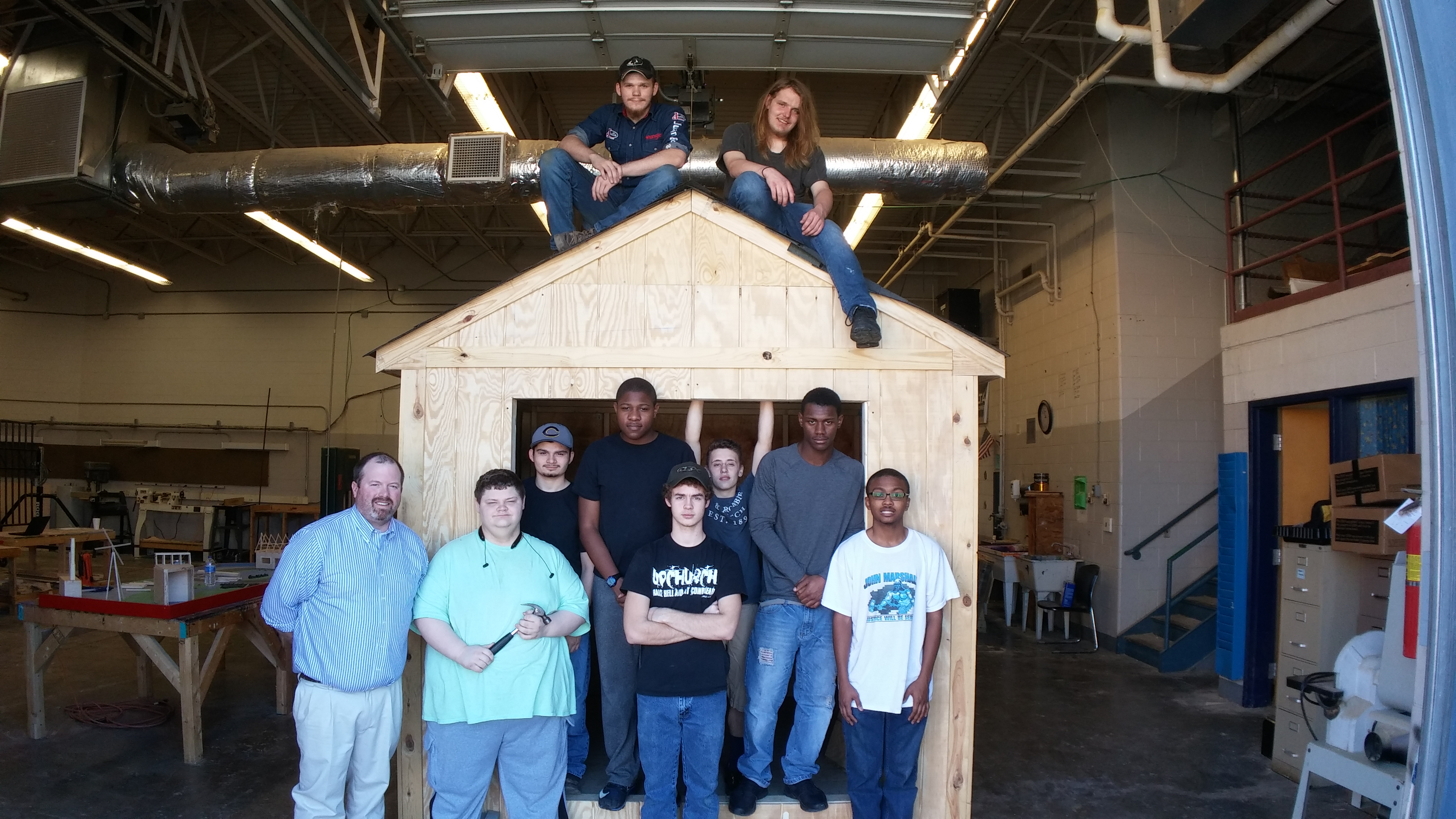 Cumberland Builds Again- 2017