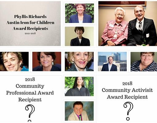 Nominations Open for Phyllis Richards Austin Icon for Children Award