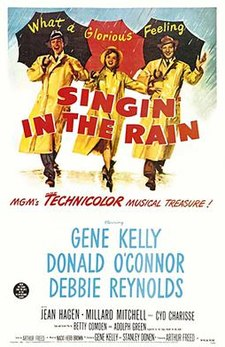 Singing in the Rain Free Movie and Popcorn