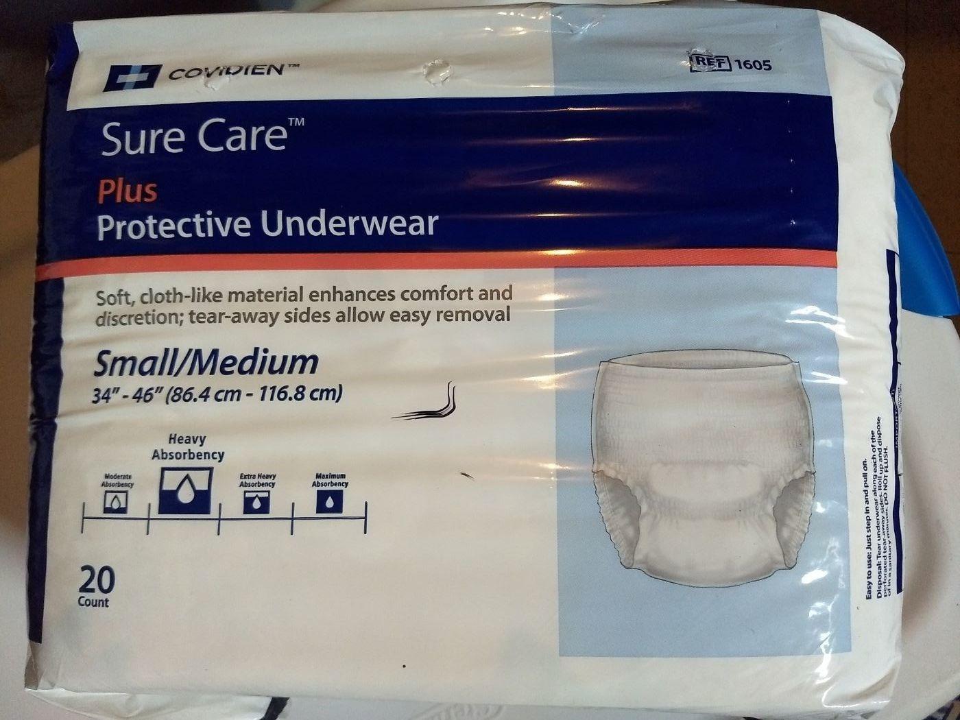 Sure Care Protective Underwear S-M