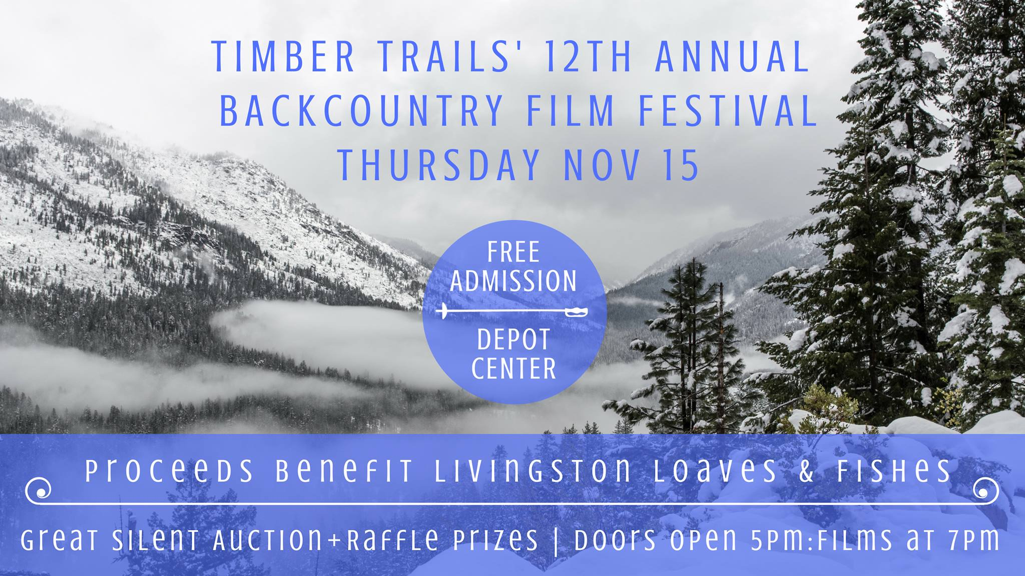 12th Annual Free Backcountry Film Festival: Timber Trails