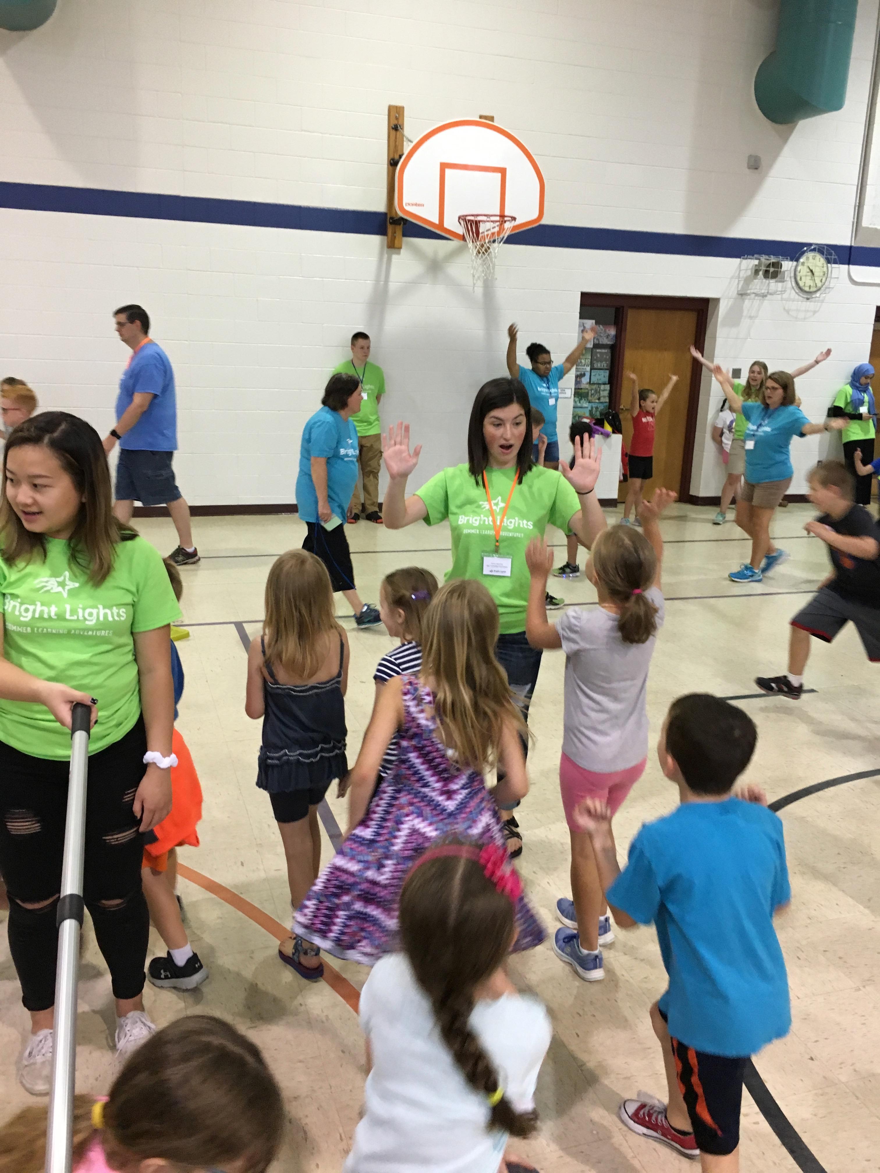 Class Assistant volunteers brighten classroom experience