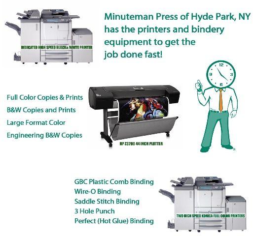 Minuteman Press Dutchess County Printing & Binding