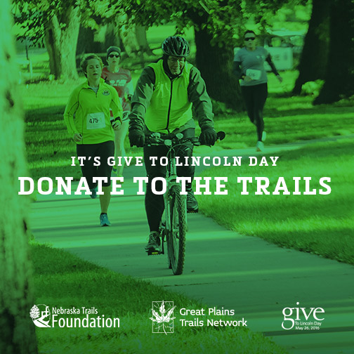 Give to the Trails on Give To Lincoln Day