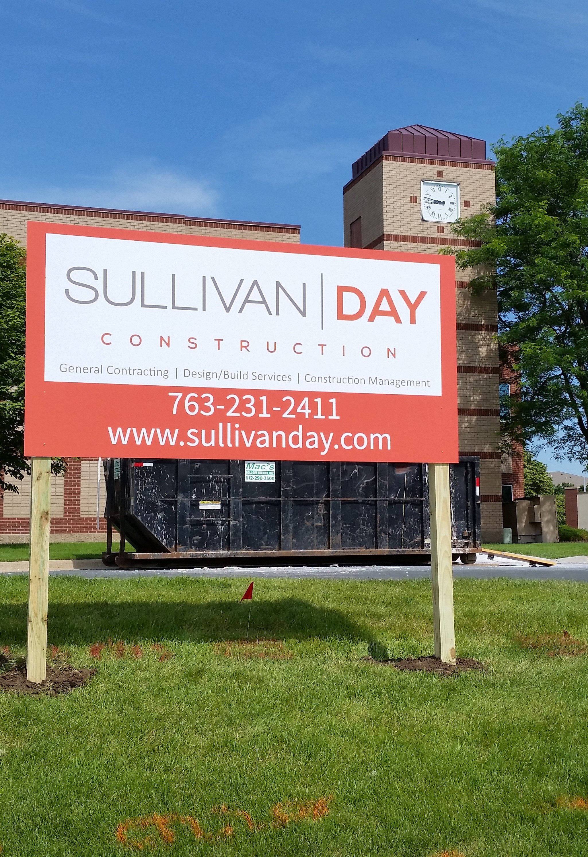 General Contractors Sign Services