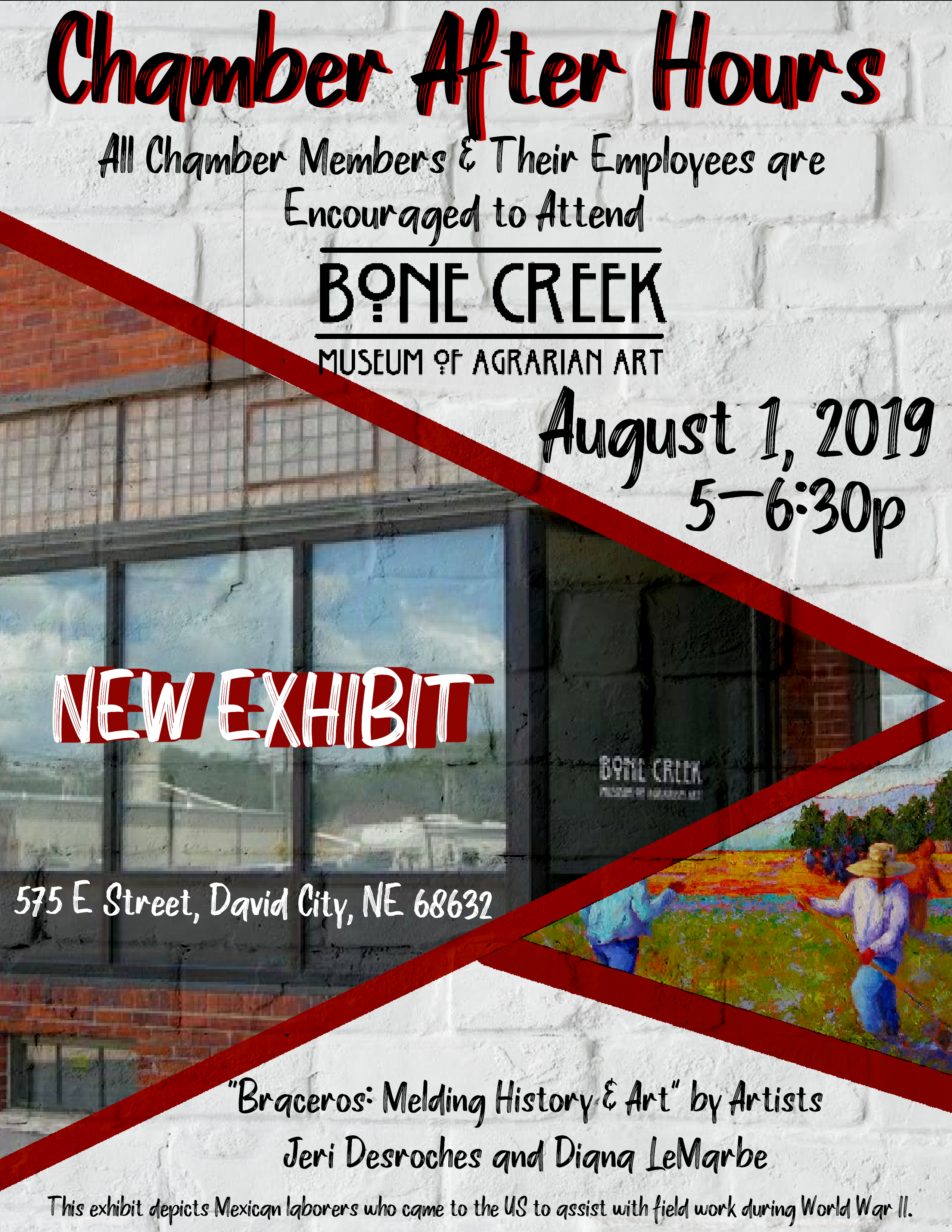 Chamber After Hours - Bone Creek Museum of Agarian Art