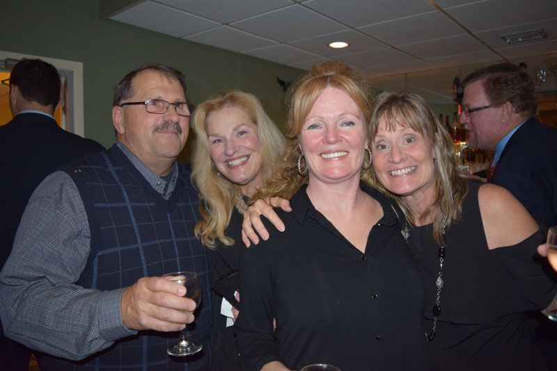Staff members Steve Hillriegel, Jan Statt, Trish Schwartz and Maureen Stewart